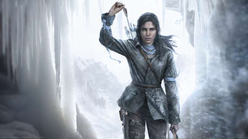 Rise of the Tomb Raider achtergrond 06