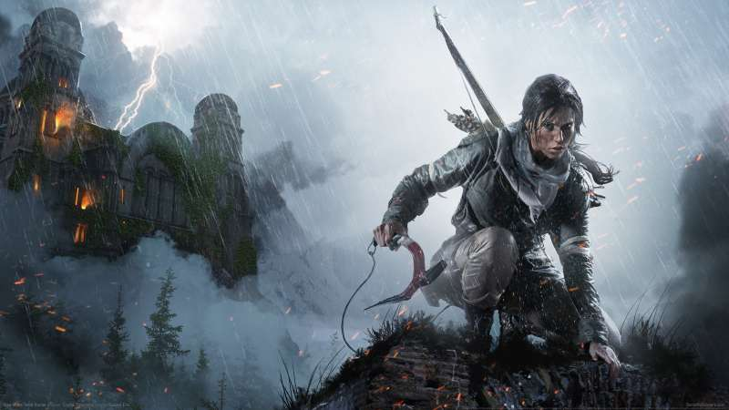 Rise of the Tomb Raider achtergrond 13