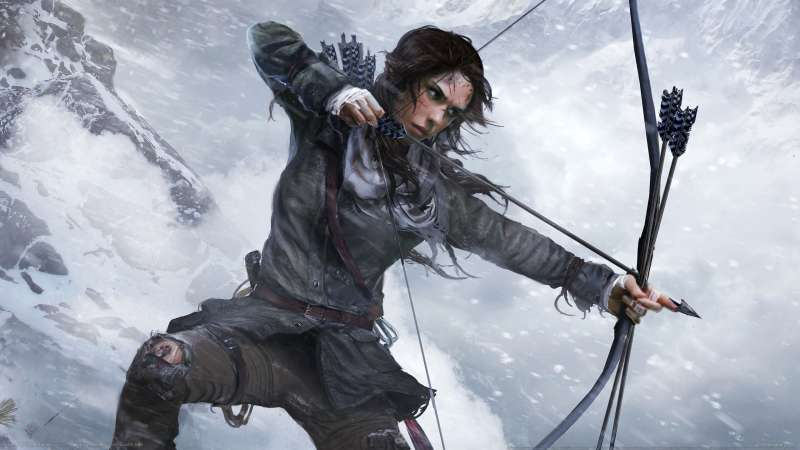 Rise of the Tomb Raider achtergrond 21