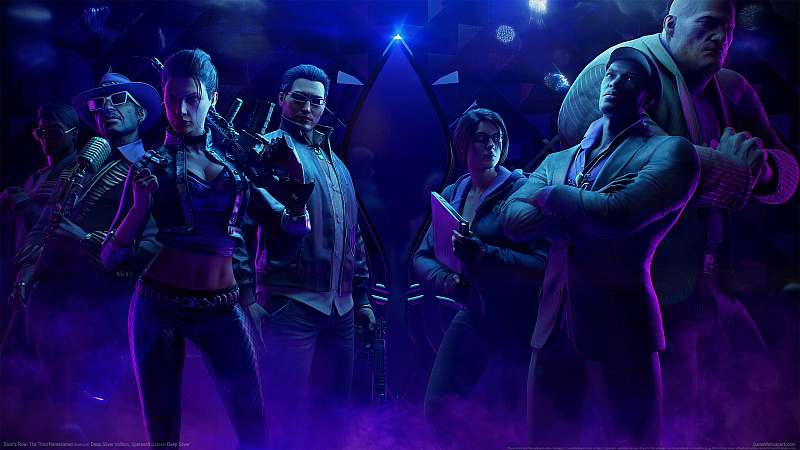Saints Row: The Third Remastered achtergrond