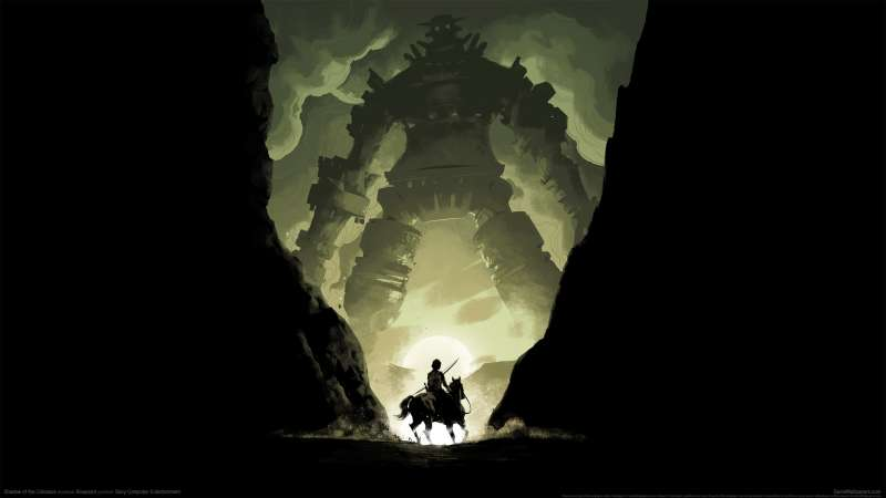 Shadow of the Colossus achtergrond 02