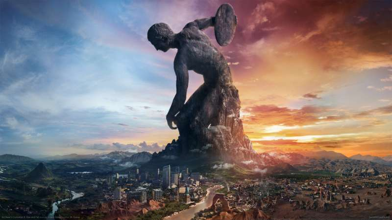 Sid Meier's Civilization 6: Rise and Fall achtergrond 01
