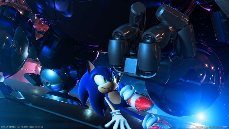 Sonic Unleashed achtergrond