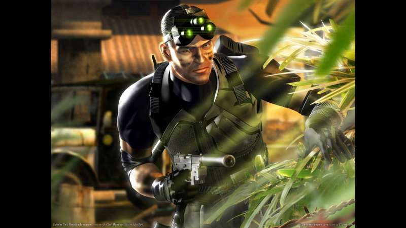 Splinter Cell: Pandora Tomorrow achtergrond 01