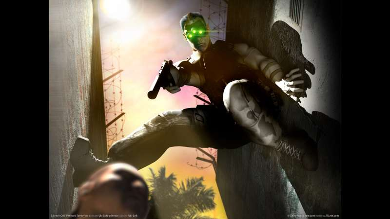 Splinter Cell: Pandora Tomorrow achtergrond 02