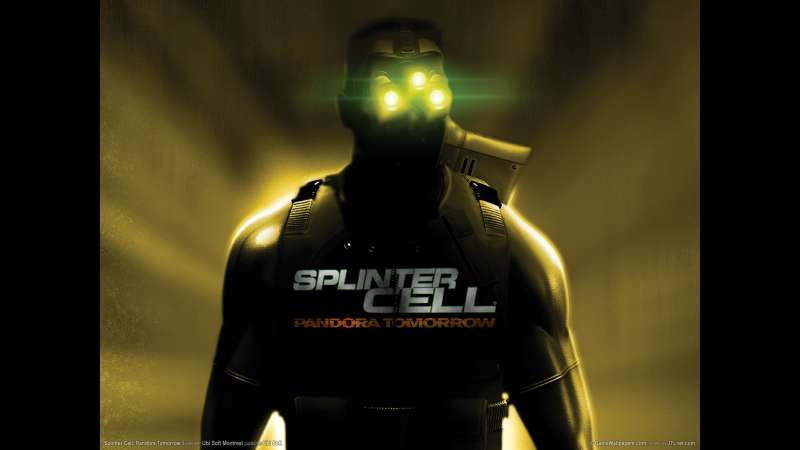 Splinter Cell: Pandora Tomorrow achtergrond 03