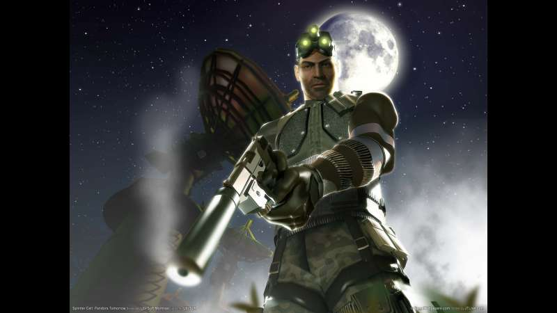 Splinter Cell: Pandora Tomorrow achtergrond 09
