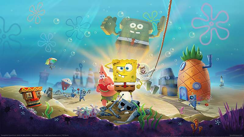 SpongeBob SquarePants: Battle for Bikini Bottom - Rehydrated achtergrond