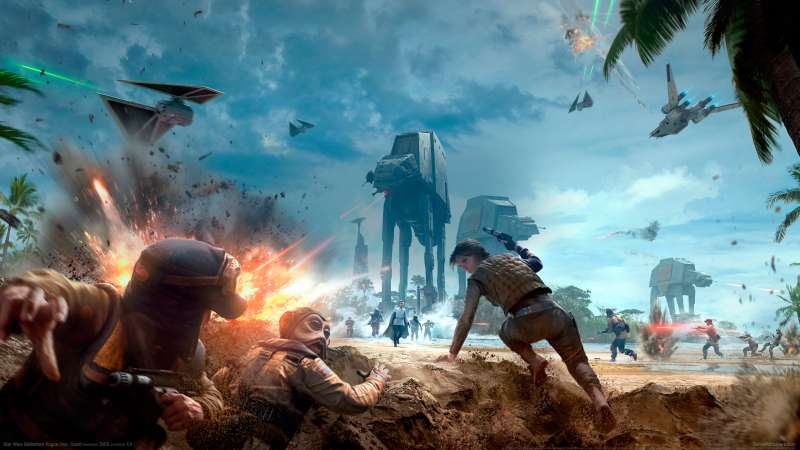 Star Wars Battlefront Rogue One: Scarif achtergrond 01
