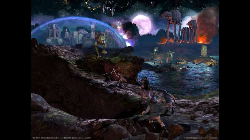 Star Wars: Galactic Battlegrounds achtergrond