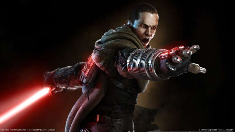 Star Wars: The Force Unleashed achtergrond