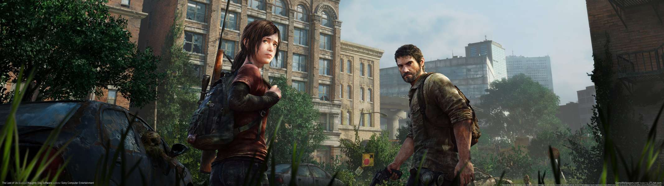 The Last of Us dual screen achtergrond
