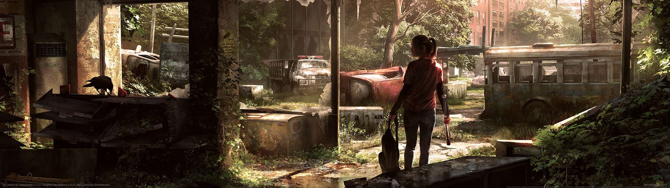 The Last of Us: Remastered dual screen achtergrond