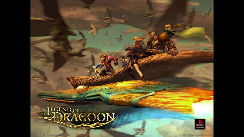 The Legend of Dragoon achtergrond