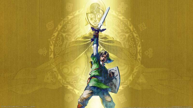 The Legend of Zelda: Skyward Sword achtergrond 01