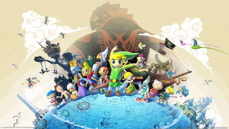 The Legend of Zelda: The Wind Waker HD achtergrond
