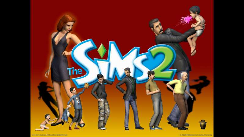 The Sims 2 achtergrond 01