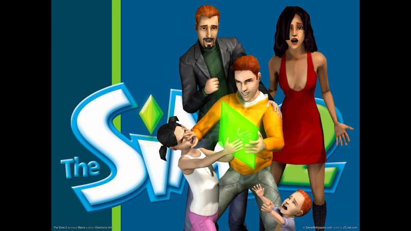 The Sims 2 achtergrond 02