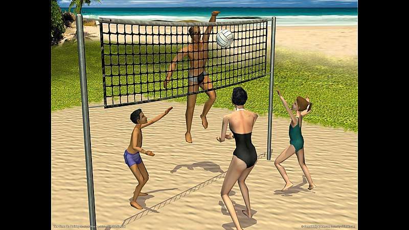 The Sims: On Holiday achtergrond