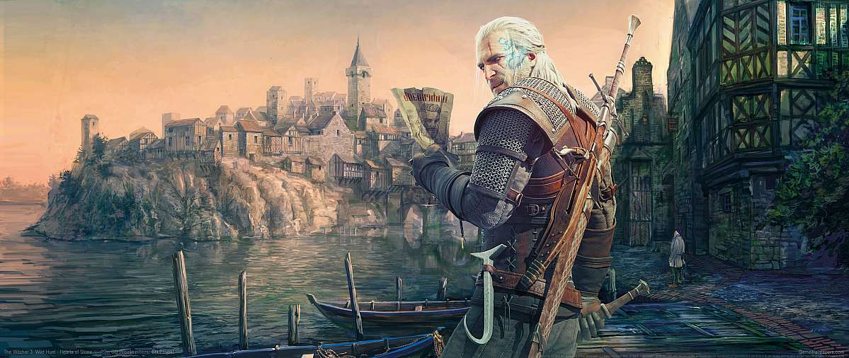 The Witcher 3: Wild Hunt - Hearts of Stone ultrawide achtergrond 02