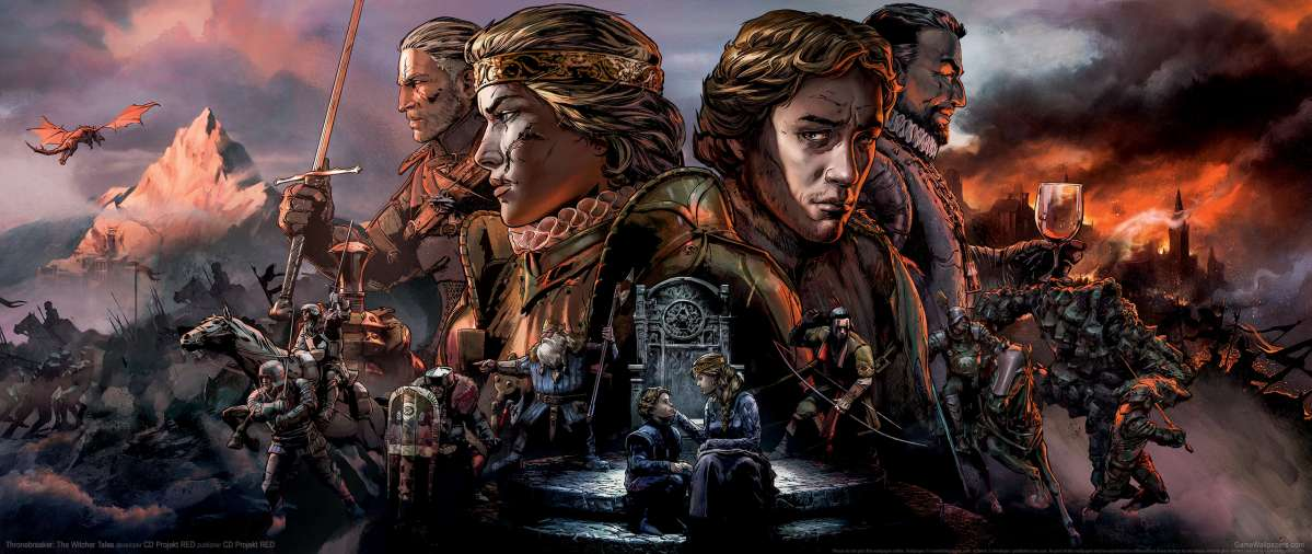 Thronebreaker: The Witcher Tales achtergrond