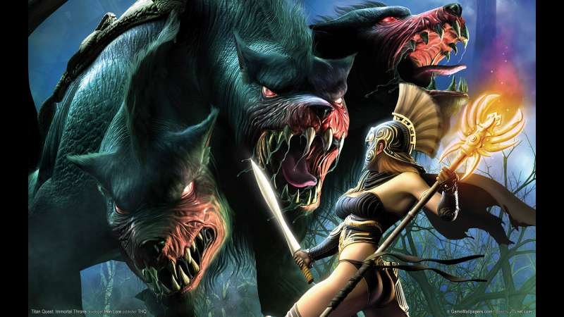Titan Quest: Immortal Throne achtergrond 01