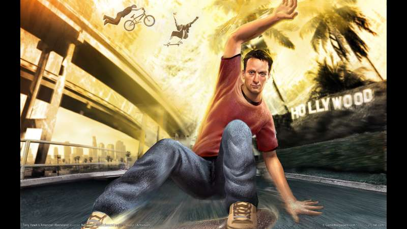 Tony Hawk's American Wasteland achtergrond 01