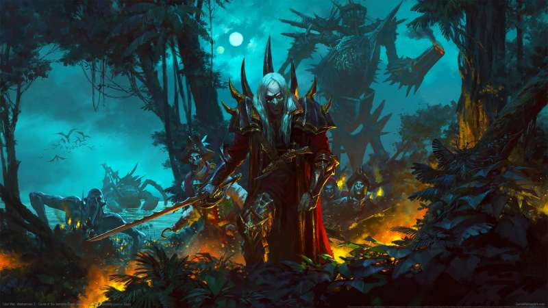 Total War: Warhammer 2 - Curse of the Vampire Coast achtergrond