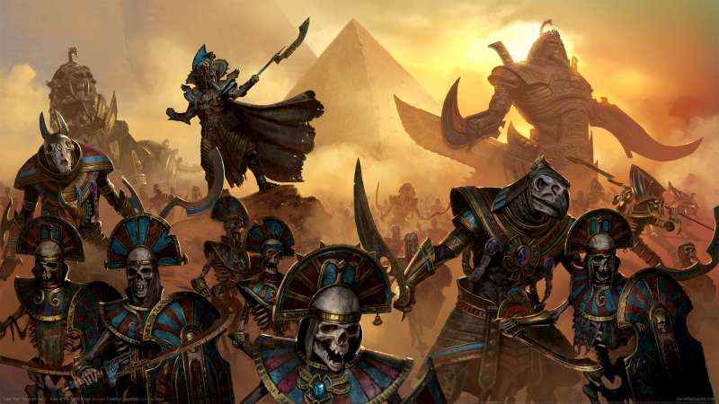 Total War: Warhammer 2 - Rise of the Tomb Kings achtergrond