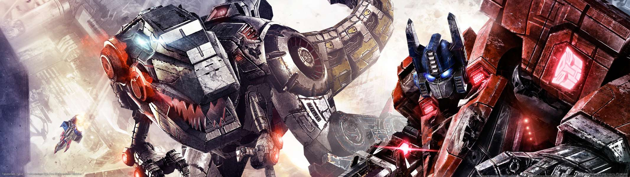 Transformers: Fall of Cybertron dual screen achtergrond