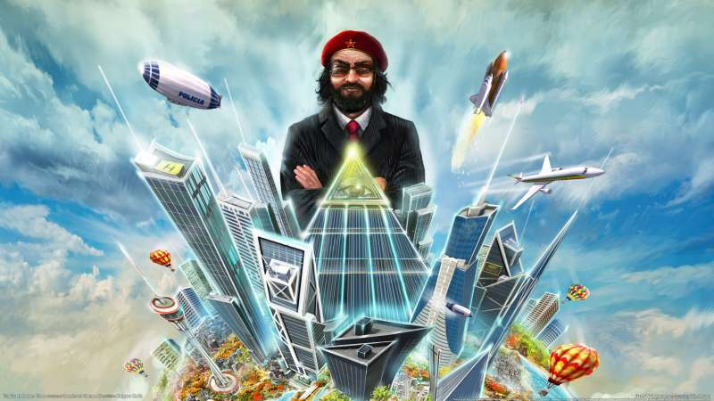 Tropico 4: Modern Times achtergrond 01