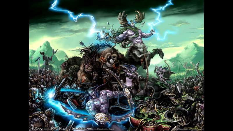 Warcraft 3: Reign of Chaos achtergrond 02