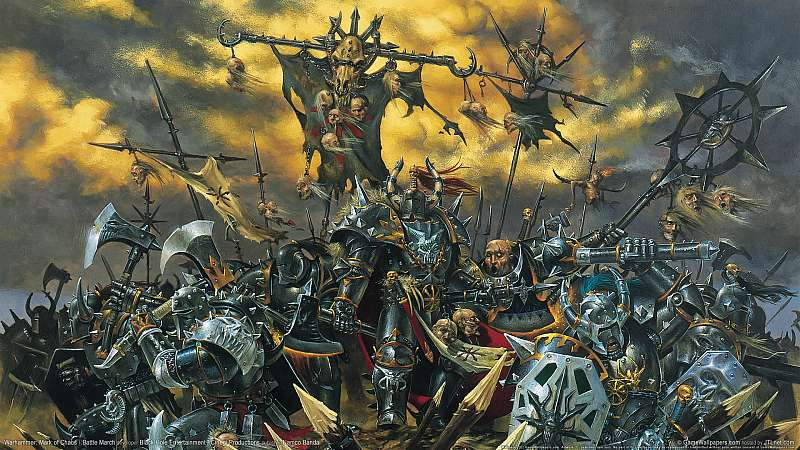 Warhammer: Mark of Chaos - Battle March achtergrond