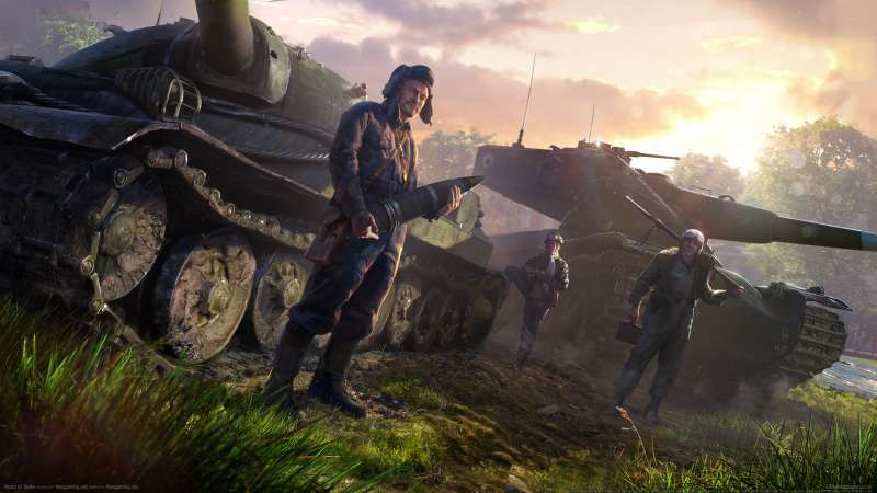 World of Tanks achtergrond