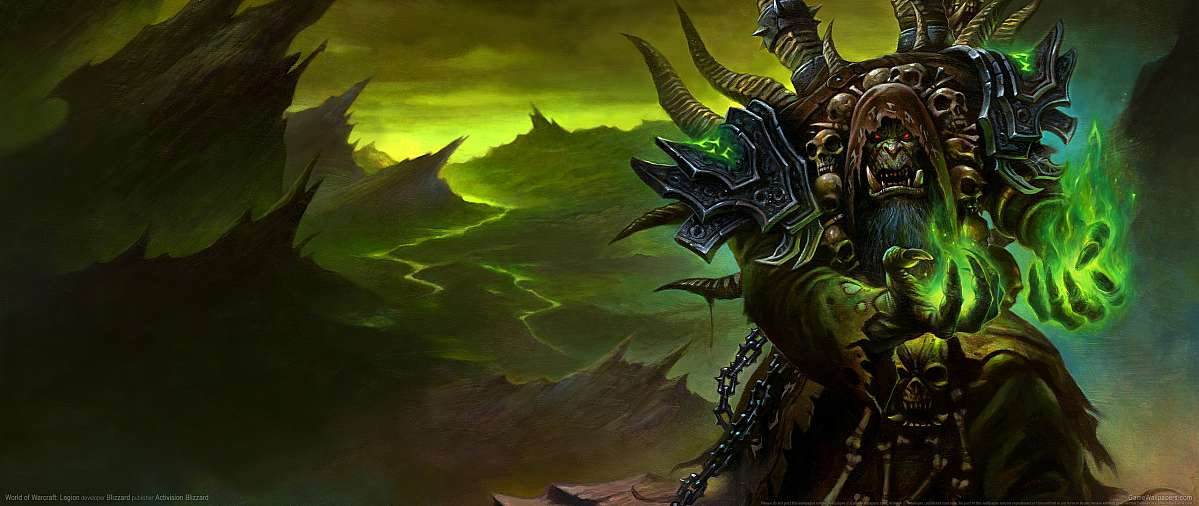 World of Warcraft: Legion achtergrond