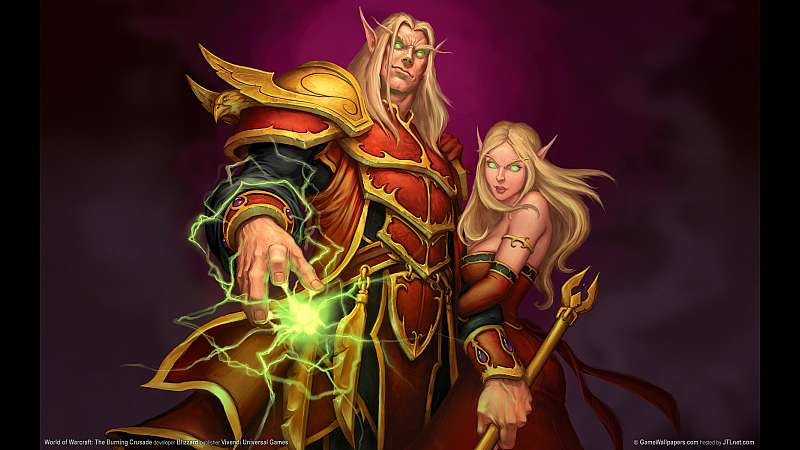 World of Warcraft: The Burning Crusade achtergrond