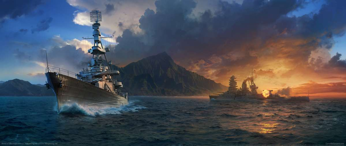 World of Warships achtergrond