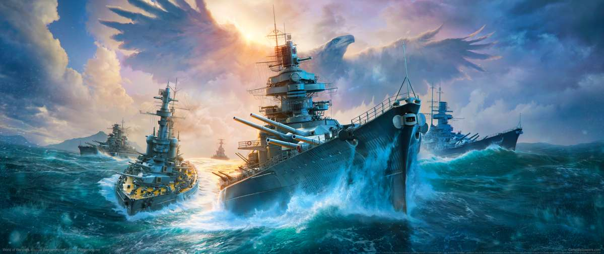 World of Warships ultrawide achtergrond 18