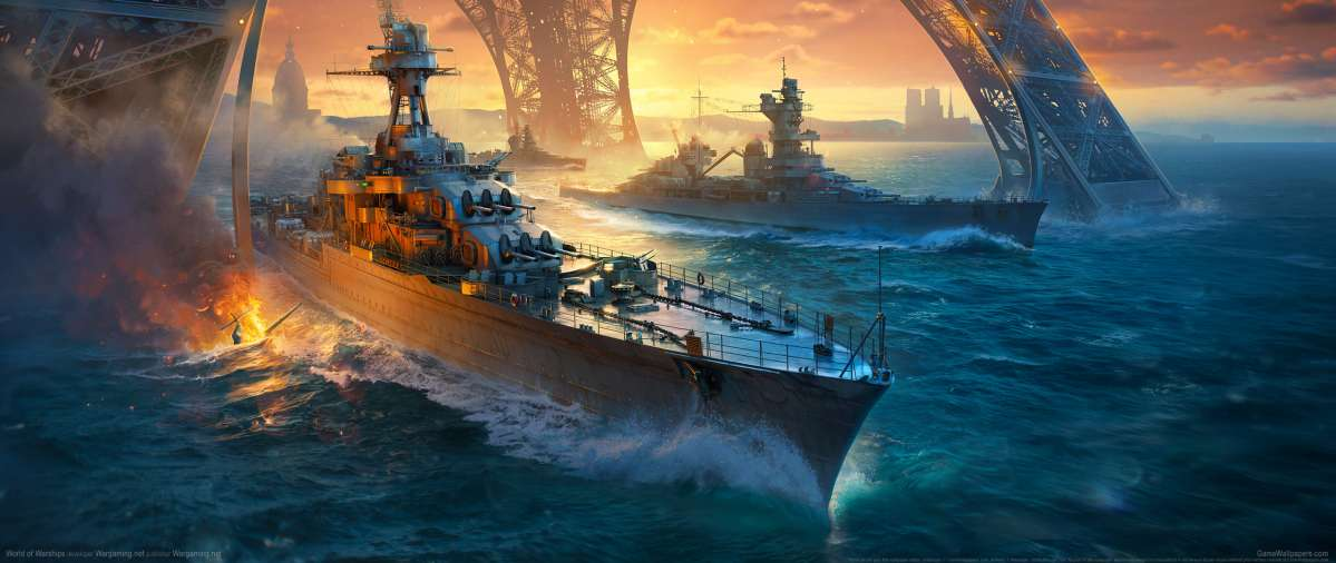 World of Warships ultrawide achtergrond 20